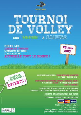 Tournoi de volley de l'AS Caluire