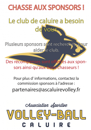 Chasse aux sponsors