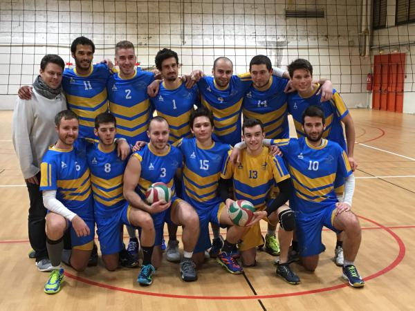 Seniors Masculins 1 - AS Caluire Volley Ball