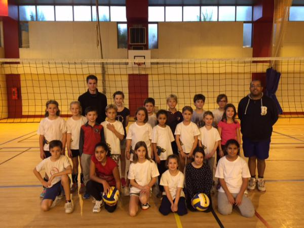 M9/M11 Mixte - AS Caluire Volley Ball