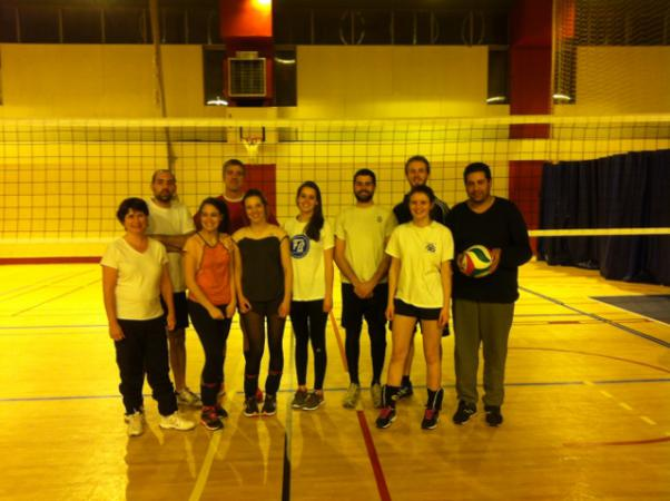 Loisirs 2 - ASSOCIATION SPORTIVE DE CALUIRE SECTION  VOLLEY-BALL