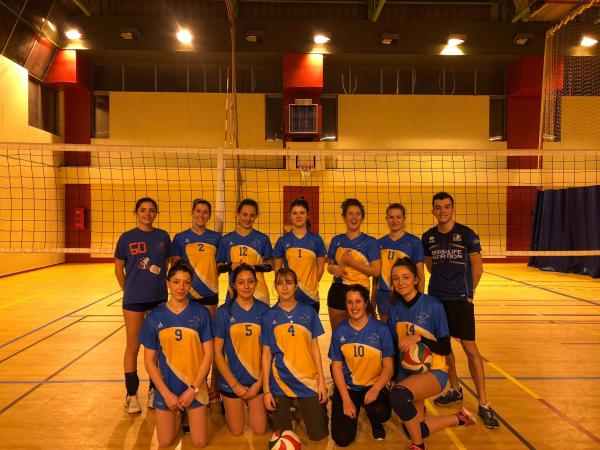 M17/M20 Féminines 1 - AS Caluire Volley Ball